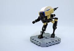 Blaze (Rogue Bantha) Tags: lego mech tan walker