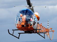 AB-47G-4A (Andreu Anguera) Tags: helicóptero ab47g4a ecdze envuelo realaeroclublugo aerodromoderozas lero castroderey lugo galicia andreuanguera