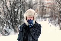 Natasha. (Stas_Ko) Tags: 5dm2 85mm canon portrait winter snow