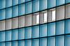 Wall of glass (Jan van der Wolf) Tags: map113412v wall muur pattern patroon abstract lijnen lijnenspel interplayoflines playoflines blue glass glas