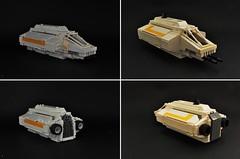 VCX-series: Phantom (comparison) (Inthert) Tags: phantom rebels moc lego star wars ship season 1 chopper ezra bridger hera syndulla ghost shuttle starfighter lothal spectre vcxseries corellian engineering corporation