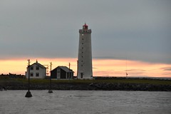 Grotta Lighthouse at Midnight (EC@PhotoAlbum) Tags: islanda iceland landscape paesaggio lighthouse grottalighthouse faro farodigrotta reykjavik marcomengoni location tihovolutobeneveramente locationvideo