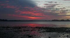 Lueurs crpusculaires ..... (Herb) Tags: roscoff reflection rflexion dusk crpuscule twilight nuage nube cloud