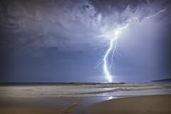 Maroubra Beach (Timothy M Roberts) Tags: lightning nature natura naturaleza d810 beach clouds storm