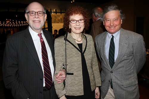 Harold Holzer and his wife Edith, NY State Assemblyman Steve Otis