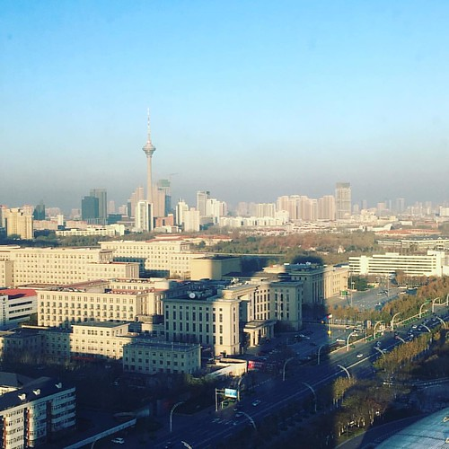 Morning, Tianjin! #igers #igerstianjin #clarendon #tianjin #instahub #igdaily #like4like #天津 #china #sunday #weekend #skyline #somerset #ascot