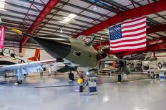 DSC_1321 (Calum Linnen) Tags: aviation valiant air command museum united states force usaf us navy f105d a4skyhawk f8 crusader f14 tomcat