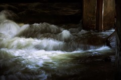 .its all water under the bridge. (allyson.marie) Tags: stream creek nature moving fall slowshutter water landscape