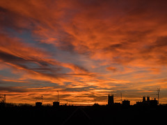 Sunset_1000969 (HJSP82) Tags: 20161130sunset lastsunset beverley rooftops stmarys minster