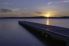 Sunset (emmagrant_) Tags: sunset warners bay lake macquarie colours longexposure newcastle nsw australia