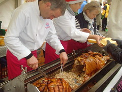 Hog Roast at Portmerrion Food Festival (Tony Worrall) Tags: add tag 2016tonyworrall images photos photograff things uk england food foodie grub eat eaten taste tasty cook cooked iatethis foodporn foodpictures picturesoffood dish dishes menu plate plated made ingrediants nice flavour foodophile x yummy make tasted meal portmerrion foodfestival show buy sell candid hog roast butty