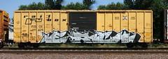 Each (quiet-silence) Tags: railroad art train graffiti railcar boxcar graff freight each ttx rbox fr8 railbox rbox39470