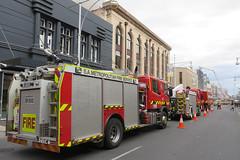 Hindley Street - looking towards the west (adelaidefire) Tags: fire south australian service sa metropolitan mfs samfs
