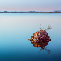 Tranquillity at the lagoon - Study II (Gregoris Mentzas) Tags: longexposure seascape greece thessaloniki waterscape kalochori