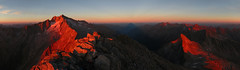 Säuleck 3086m (ernst.weberhofer) Tags: sunset sonnenuntergang mallnitz ankogel hochalmspitze säuleck reiseck arthurvonschmidhaus giesenerhütte