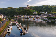 Reichsburg Rhine (JN) Tags: river germany boats nikon village hills valley 1735mmf28d rhine cochem reichsburg 1735mm d700