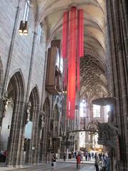 Nave of St. Lorenz Church, Nuremberg, Germany (Paul McClure DC) Tags: church architecture germany bayern deutschland bavaria nuremberg franconia historic franken nrnberg may2015
