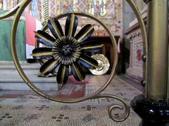 St Mark Worsley. Ironwork by Skidmore (Fiona Moate) Tags: salford georgegilbertscott victorianchurch earlofellesmere stmarkworsley