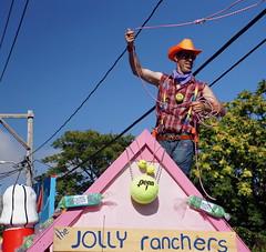 2015 Carnival Parade, Provincetown MA (Boston Runner) Tags: carnival cowboy provincetown massachusetts parade candyland lasso 2015 jollyrancher hardcandy neversoft brewstermenstennisleague