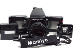 A friend is leaving... (Jaf-Photo) Tags: camera mamiya film analog 645 pro medium format sekor 80mmf19