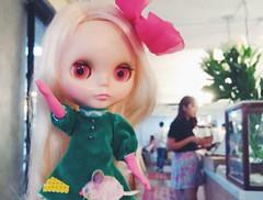 Hello to the magic hour or 2 🐭💕 #love #blythe #kennerblythe #vintage #doll #ブライス #人形