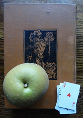 (ART NAHPRO) Tags: apple hearts cards book ace knight
