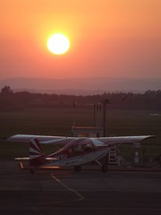 G-AYXU Bellanca Citabria (Aircaft @ Gloucestershire Airport By James) Tags: james airport gloucestershire lloyds bellanca citabria egbj gayxu