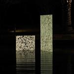 建築用廃硝子の結晶化による再生硝子の写真