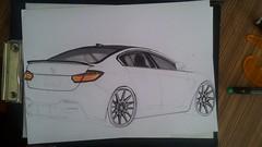 P_20151014_160438 (www.omerkoc) Tags: auto cars car sketch automobile drawing bmw vehicle m3 desing karakalem tasarım blackpencil omerkocdesigner çizimömerkocömerkoc