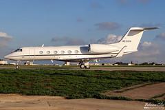 Private --- Gulfstream Aerospace Gulfstream G450 --- N533SR (Drinu C) Tags: plane private aircraft aviation sony dsc gulfstream mla bizjet privatejet g450 gulfstreamaerospace lmml hx100v adrianciliaphotography n533sr