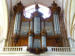 Poitiers Cathdrale Saint-Pierre Cliquot organ (pierremarteau) Tags: cathdrale organ vienne orgel poitiers orgue saintpierre cliquot poitoucharentes