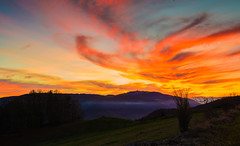 Switzerland Sunset over Chasseral Mountain (charles.duroux) Tags: flickr nyip panoramio
