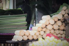 Banana Stem (bluelotus92) Tags: india streets order market stack roads karnataka mysore stacked mysuru devarajursmarket devarajaursmarket bananastem