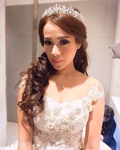 Mrs At Wendyfx28 Wedding Gown At Chandbride Hair Accessories