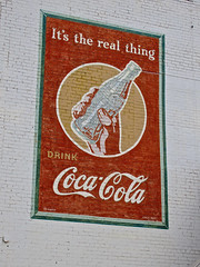 Coca-Cola, Minden, LA (Robby Virus) Tags: sign real louisiana thing ghost ad coke advertisement restored cocacola minden repainted