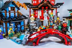 Lego 70751 - Ninjago - Temple of Airjitzu (gnaat_lego) Tags: claire jay lego cole misako kai lloyd zane exclusive postman nya zay jesper ucs dareth 70751 ninjago arachnidhero templeofairjitzu