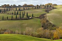 Monticchiello von La Foce (Wolfgang.Grilz) Tags: unesco tuscany siena montepulciano valdorcia toskana cretesenese