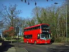 WHV65 Corkscrew Hill (Jason 87030) Tags: camera red tree leaves canon eos volvo kent north roadside publictransport gemini croydon doubledecker 119 bromley corkscrewhill greaterlondon westwickham 50d gemini3 b5lh bf65wjn