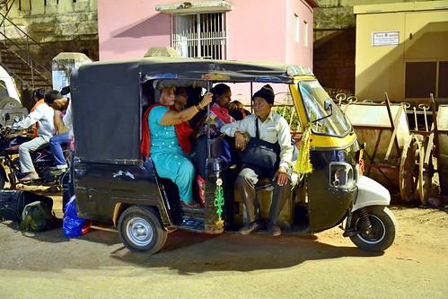 India - Odisha - Puri - Streetlife - Auto Rickshaw