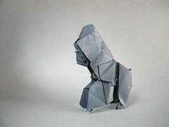 Ping Pong - Patricio Kunz (Rui.Roda) Tags: origami gorilla ping pong papiroflexia gorila patricio gorille kunz papierfalten