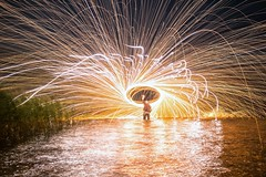 Distribute light. (Nikolas Fotos) Tags: lightpainting longexposure lightart llightpainting lihgt lichtmalerei lichtkunst longexposurephoto lightpaintingphotography sparks stellwool steelwool night nightshot nightphoto nightscape nightphotography