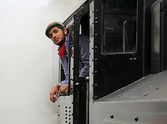WAITING FOR THE SIGNAL (gazza294) Tags: railways steam flicker flickr flckr flkr gazza294 garymargetts