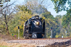 UP #844  - Lamine (tim_1522) Tags: railroad railfanning rail up unionpacific 844 kansascity unionstation steam locomotive missouri mo 484 northern downtown urban