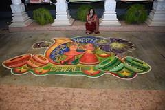 DSC_0082 (JKP RMD) Tags: divali2016 rangoli nancy