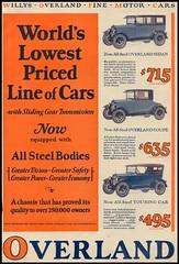 Willys - Overland Inc (oldadman) Tags: oldadman vintage advertisements advertising printed paper ephemera willys overland