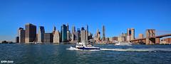 Manhatten ... (elektro_heiko) Tags: manhatten eastriver newyork usa amerika brooklynbridge oneworldtradecenter