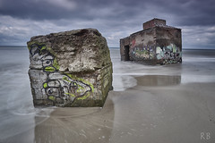 Bunker in the Baltic Sea (MrHansFromSomewhere) Tags: lost place wustrow ahrenshoop bunker military history beach baltic sea seascape graffiti colorfull cloudsstormssunsetssunrises clouds cloudporn longexposure captureone sony sonyimages sonyalpha sonya6000 sonyalpha6000 ilce6000 laea4 tokina tokinaatx1116mmf2 travel vacation langzeitbelichtung abandoned