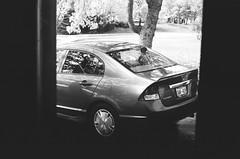 (<mmb>) Tags: honda civic 2009 brown quispamsis newbrunswick car auto automobile contax rx ilford delta delta100 35mm film analog