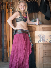 A Little Magenta (Ron Scubadiver's Wild Life) Tags: girl woman renfest nikon texas renaissance festival costume cosplay outdoors 24120