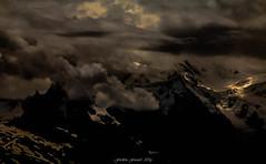 Clair-Obscur Peinture 2/2 (Frdric Fossard) Tags: orage tourmente tnbres atmosphre lumire ombre dramatique clairobscur peinture texture luminance montagne paysage nature altitude hautesavoie hautemontagne glacier montblanc massifdumontblanc aiguilledumidi art abstrait surraliste